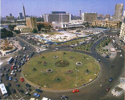 India has a score that is rivalled by countries like Egypt. A view of capital Cairo.