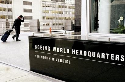 Boeing's market capitalisation is $56 billion.