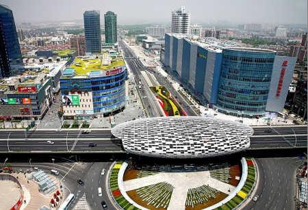 A view of Shanghai.
