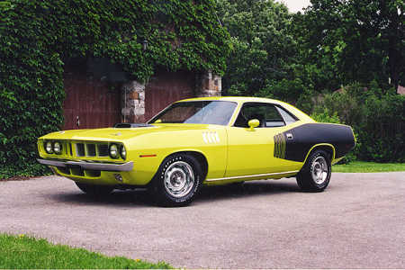 1971 Plymouth HEMI 'Cuda 2-door Hardtop.
