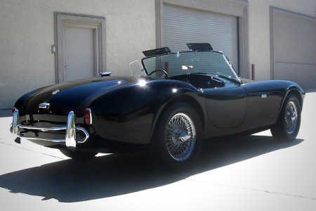 1963 Shelby Cobra Roadster.