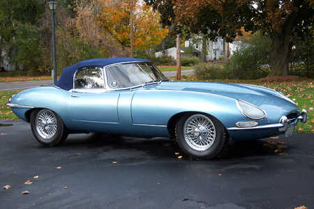 1967 Jaguar XKE Series 1 4.2 Liter Roadster.