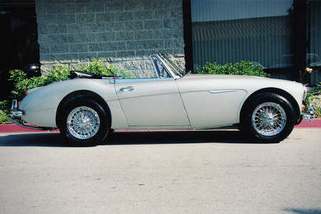 1966 Austin-Healey 3000 Mark III BJ8 Phase II Sports Convertible.