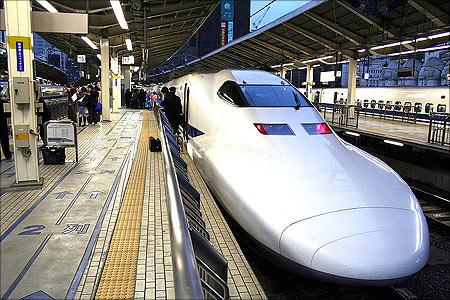 Tokyo railway station.