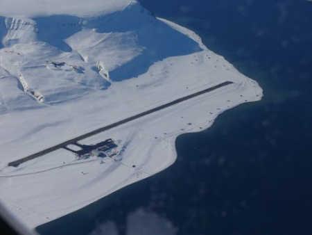 Svalbard Airport.