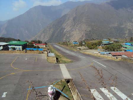 Tenzing-Hillary Airport, Nepal.