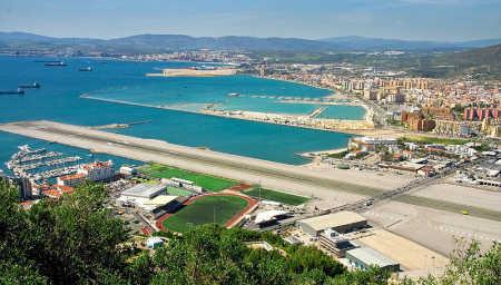 Gibraltar Airport.