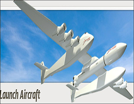 Stratolaunch system can launch people into low earth orbit.