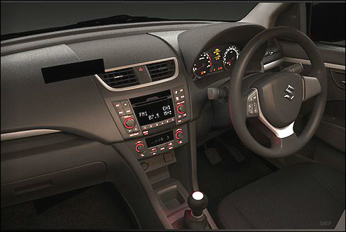 Interior view of Swift.