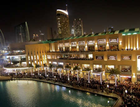 The Dubai Mall in Dubai.