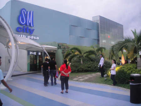 SM City North Edsa is one of the largest malls in the Philippines.