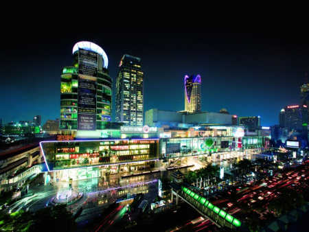 CentralWorld in Bangkok.