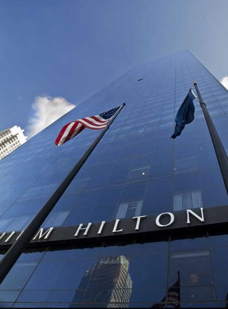 Hilton Worldwide.