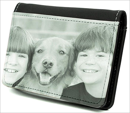 A personalised wallet from Kodak.