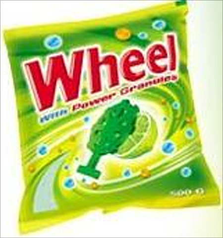 Wheel washing powder.