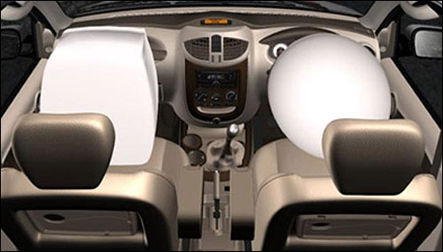 Dual SRS Airbags in Xylo E9.