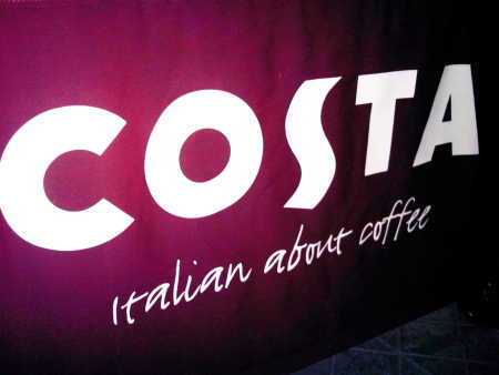 Costa Coffee is the number three player in India.