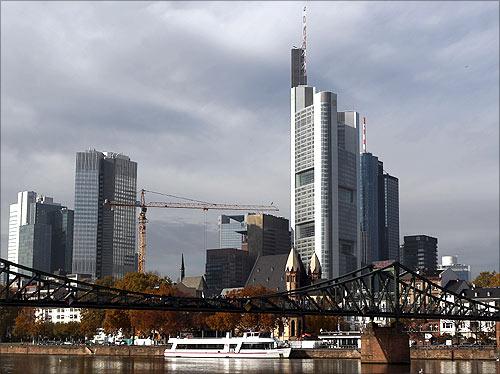 Commerzbank headquarters.