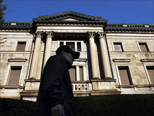 Bank of Japan headquarters.