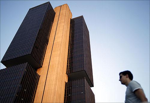 Central bank in Brasilia.