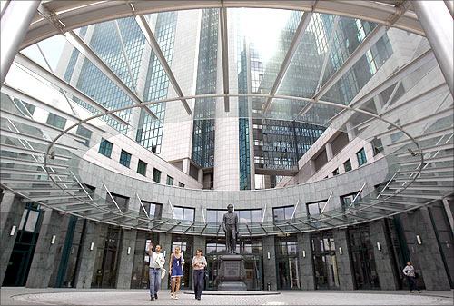Sberbank headquarters.