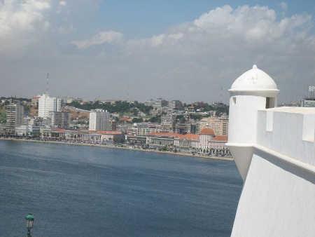 Luanda, capital of Angola.