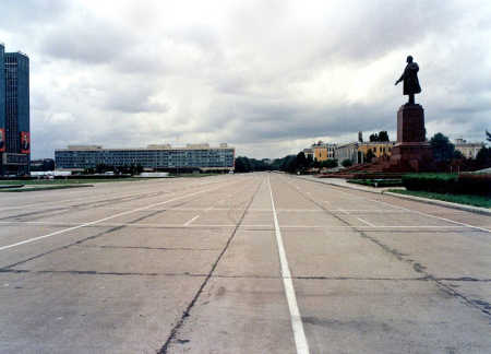 A view of capital Tashkent.