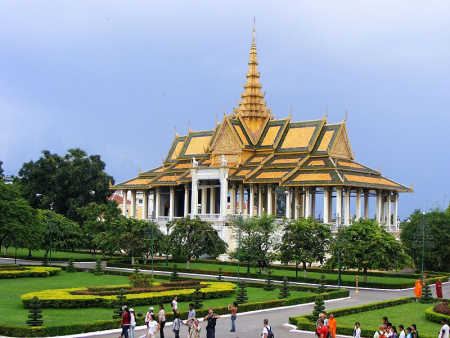 Phnom Penh, capital of Cambodia.
