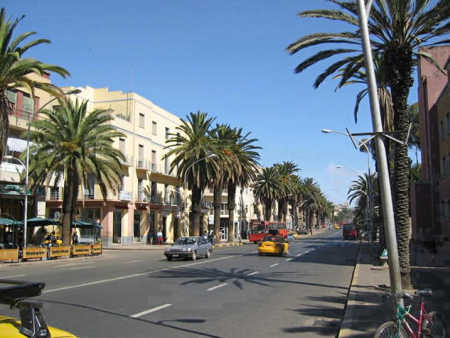 Asmara, capital of Eritrea.