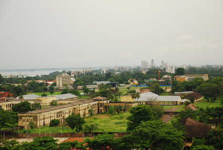 Kinshasa, capital of Democratic Republic of Congo.