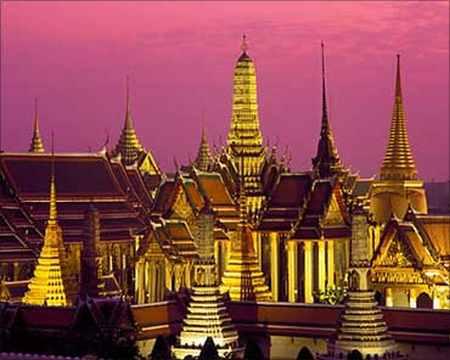 Emerald Buddha Temple, Bangkok, Thailand
