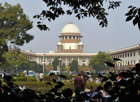 India's Supreme Court in New Delhi.