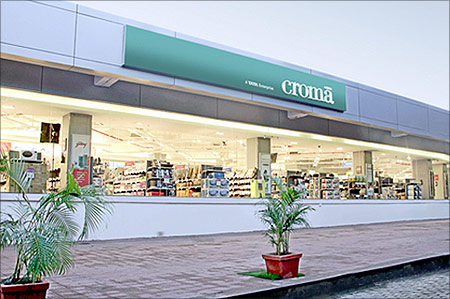 Croma store.