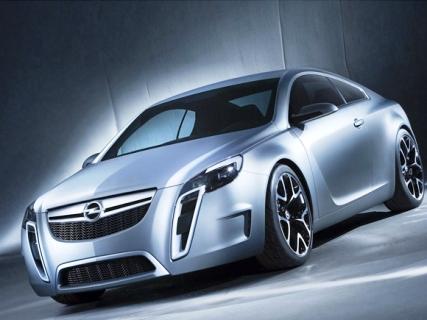 Opel Gran Turismo Coupe.