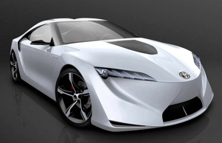 Toyota FT-HS Hybrid Sports Concept.