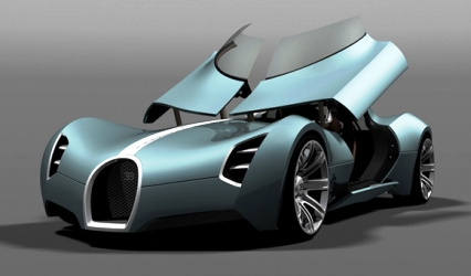 Bugatti Aerolithe.