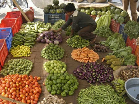 Indians spend 31 per cent on food.