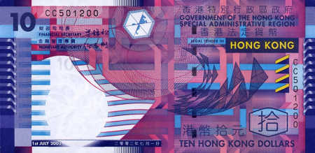 10 Hong Kong dollars.