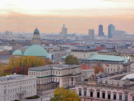 Hero's 40 per cent exports go to Germany and Austria. A view of Berlin.