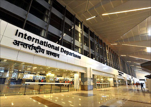Indira Gandhi International Airport.