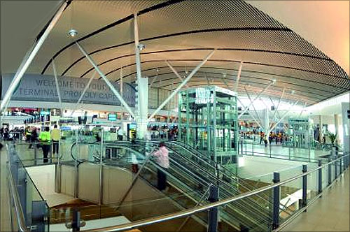 Cape Town International Airport.