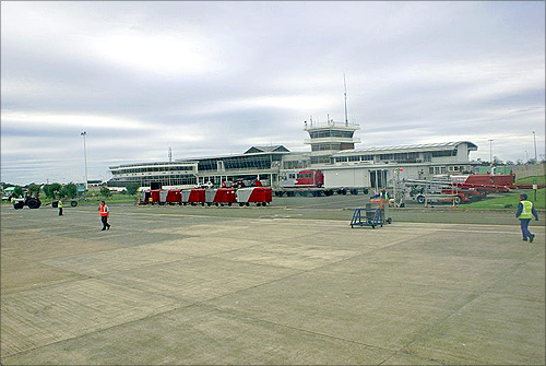 East London Airport.