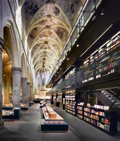 Selexyz Bookstore, Maastricht, Holland.