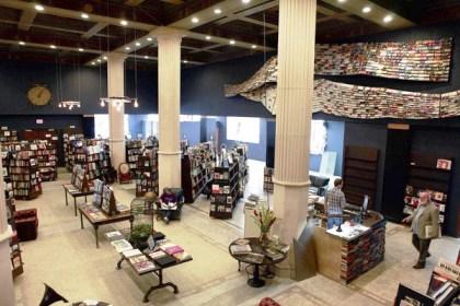 The Last Bookstore, Los Angeles.