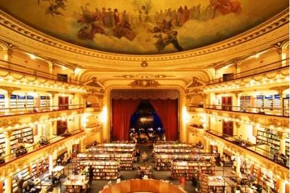 Librer a El Ateneo Grand Splendid, Buenos Aires, Argentina.