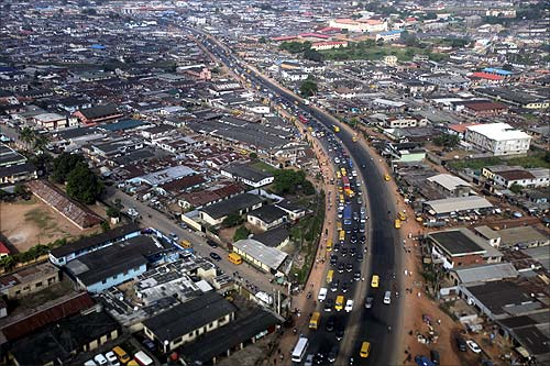 Lagos-Abeokuta expressway.