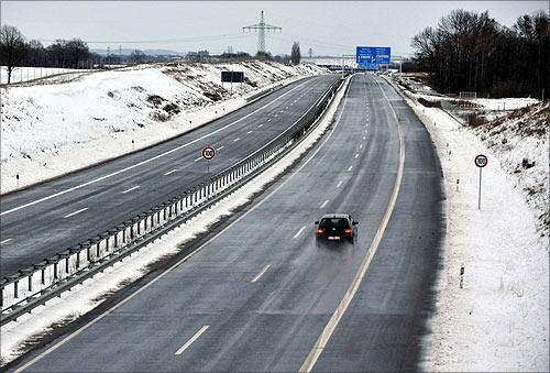 A20 highway.
