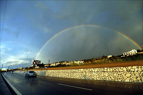 A highway in Batroun.