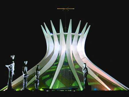 Brazil has 30 billionaires. A view of capital Brasilia.