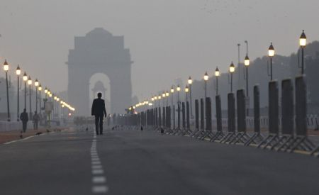 India has 55 billionaires. A view of India Gate in New Delhi.